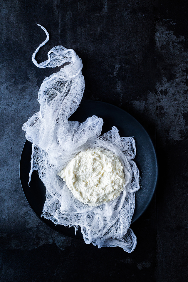 How to make homemade ricotta | www.christelleisflabbergasting.com