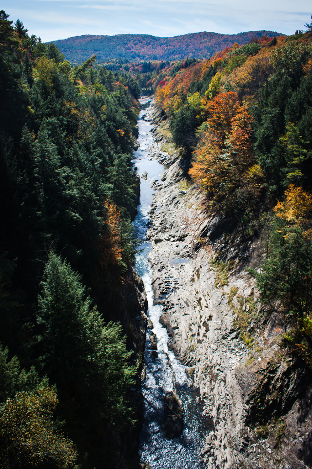 Queechee gorge | Vermont