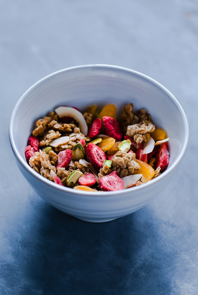 Summertime Granola on christelleisflabbergasting.com