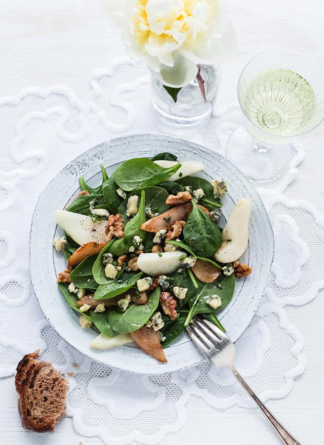 Stilton and Pear Salad -Royaume-Uni, collection Épicerie du Monde