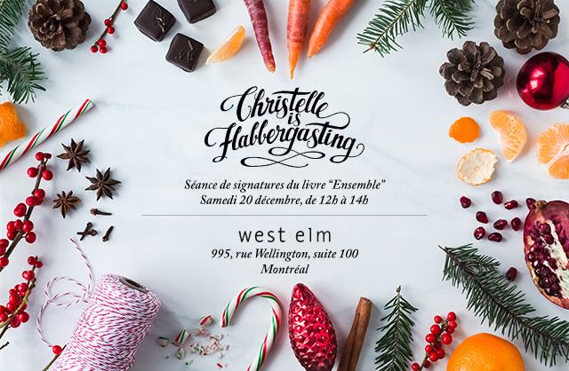 Christelle is flabbergasting x West Elm