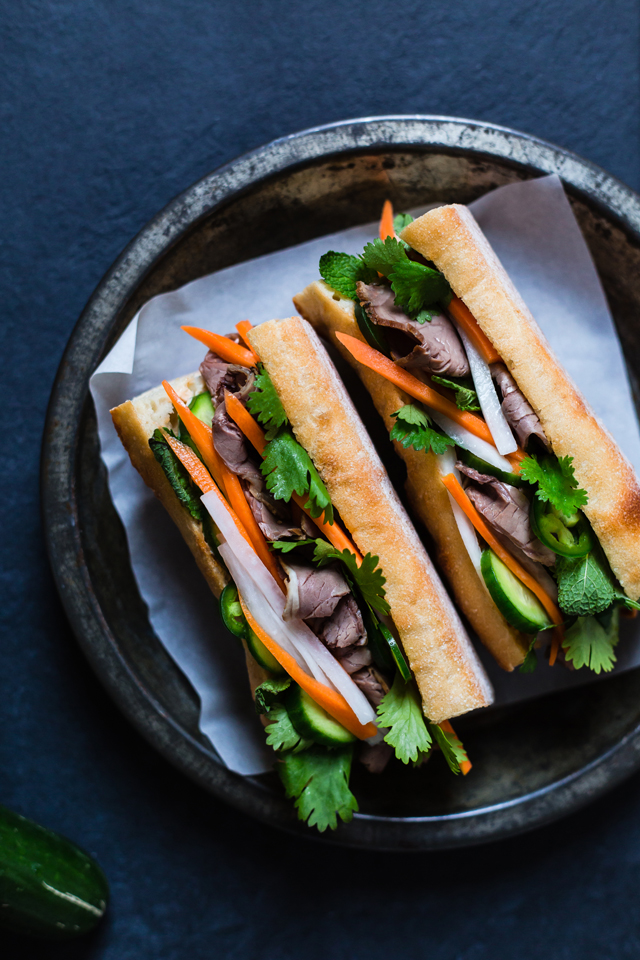 Easy Banh-Mi Recipe on christelleisflabbergasting.com