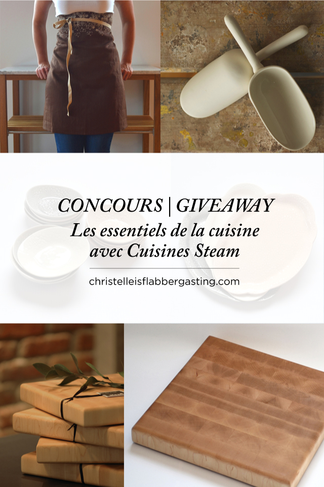 Giveaway   Concours Cuisines Steam x Christelle is flabbergasting