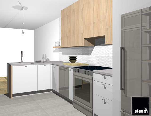 My Kitchen Renovation Project with Cuisines Steam on christelleisflabbergasting.com