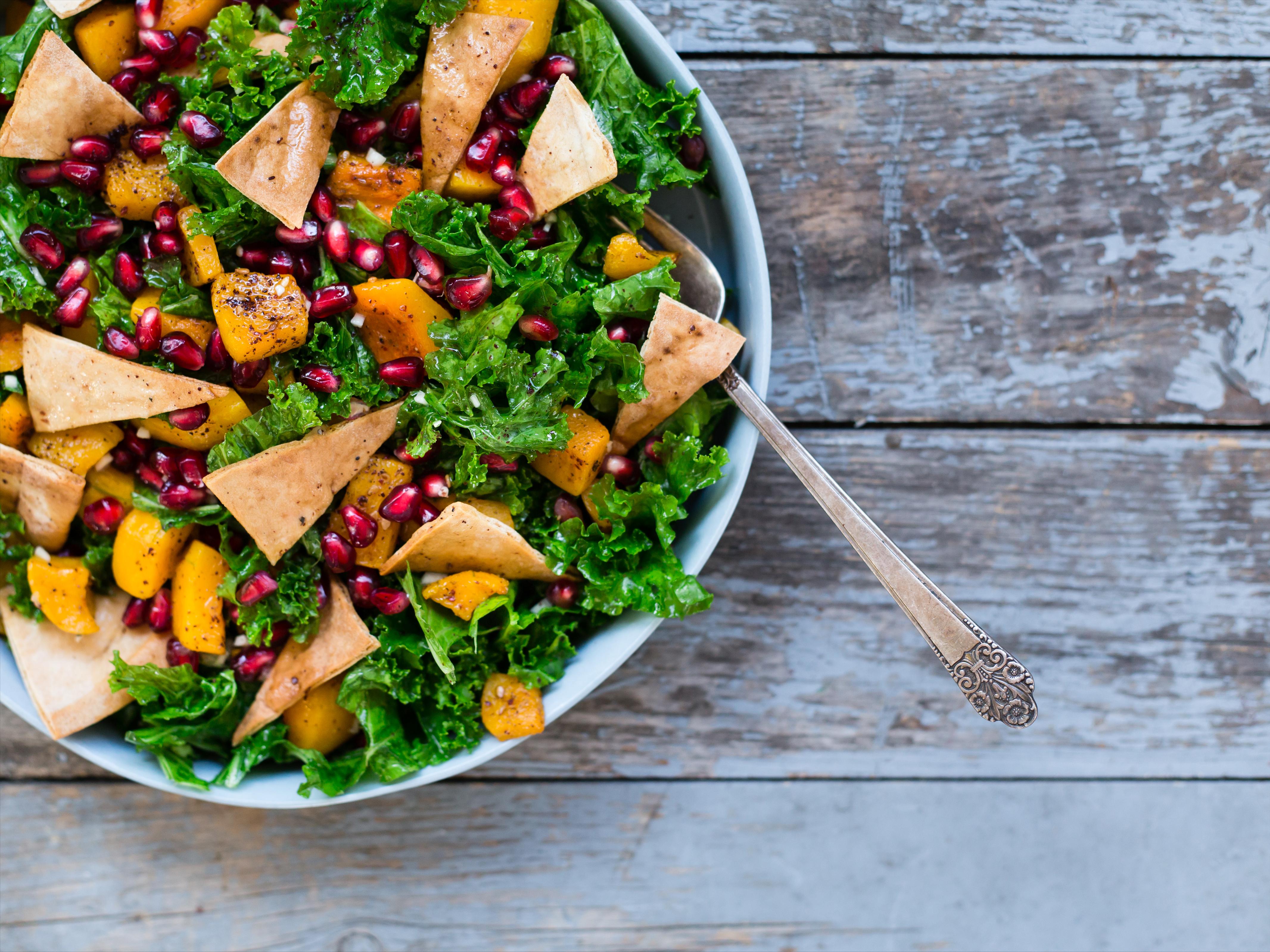 Salade fattouche d'hiver