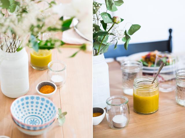 Salade de pois chiches croustillants épicés et vinaigrette citron, ail et cumin | christelleisflabbergasting.com