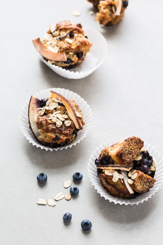 Blueberry Müesli Bread Muffins