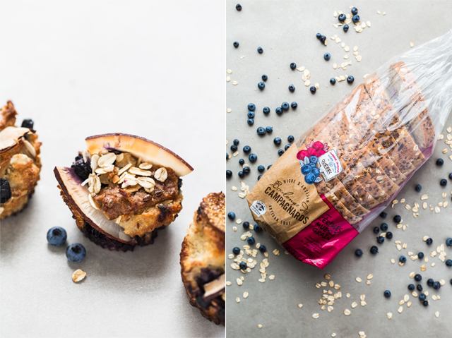 Blueberry Müesli Bread Muffins