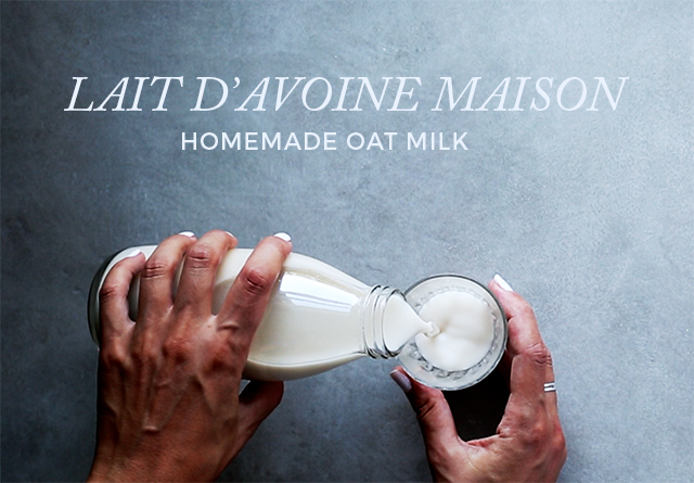 Homemade Easy Oat Milk