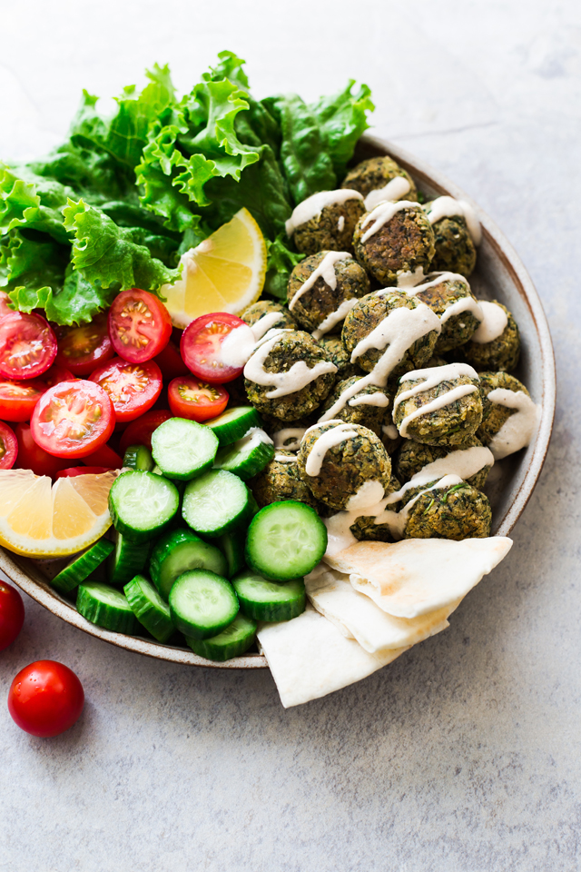 Green Baked & Easy Falafel