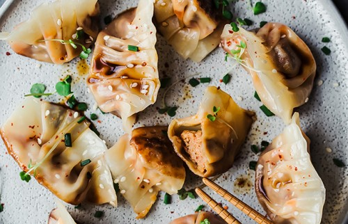 Kimchi Dumpling