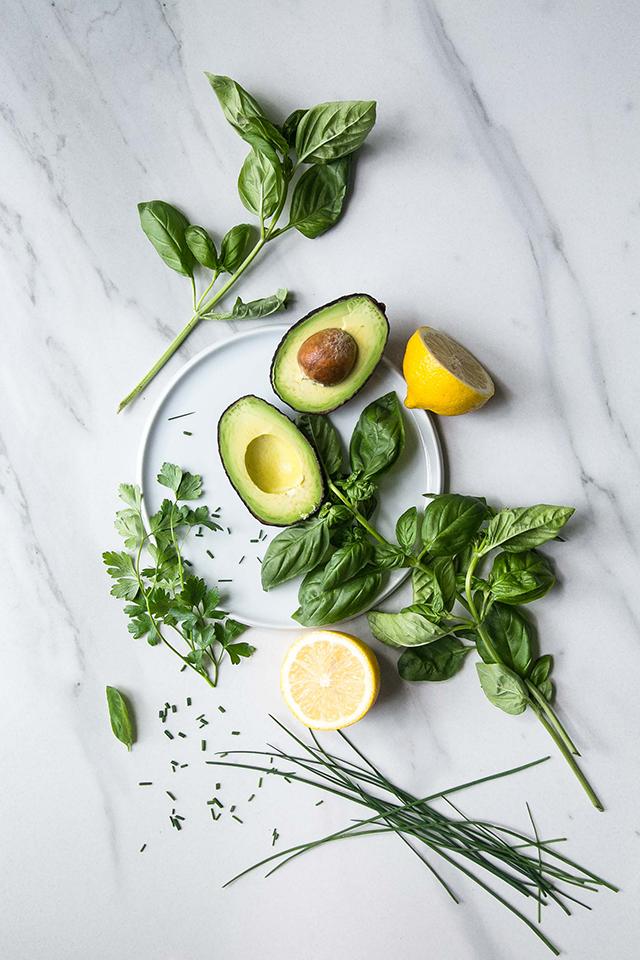 Herbs & Lemon   Sophie Bourdon
