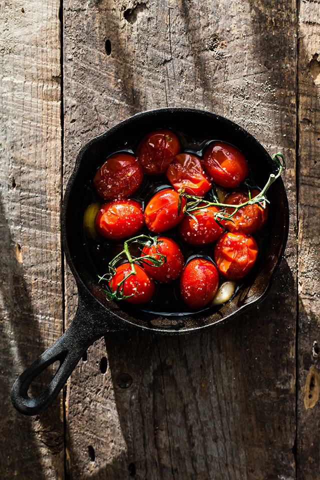 Olive Oil Roasted Tomatoes