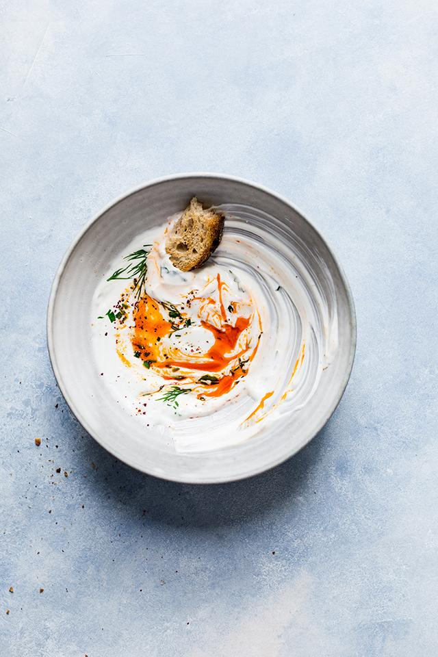Turkish Eggs   Oeufs à la turque