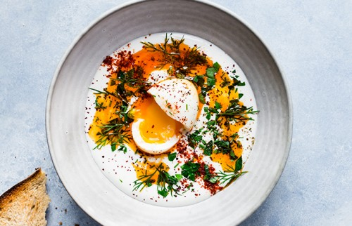 Turkish Eggs | Oeufs à la turque