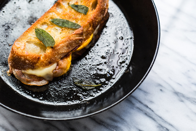 Grilled Cheese courge