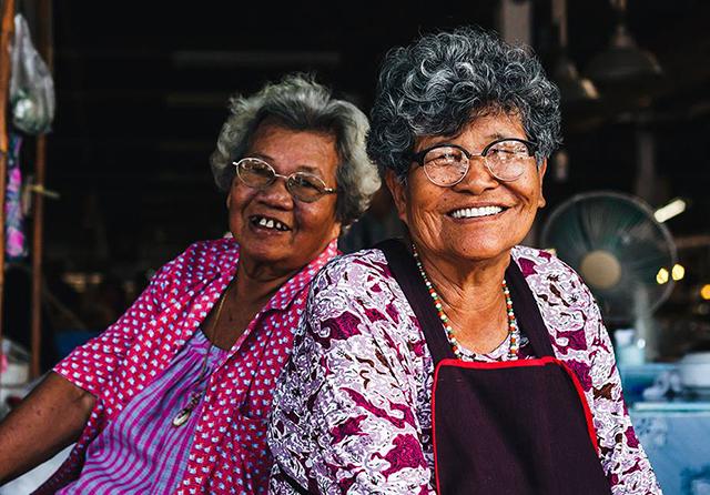 Mamies Thailandaises